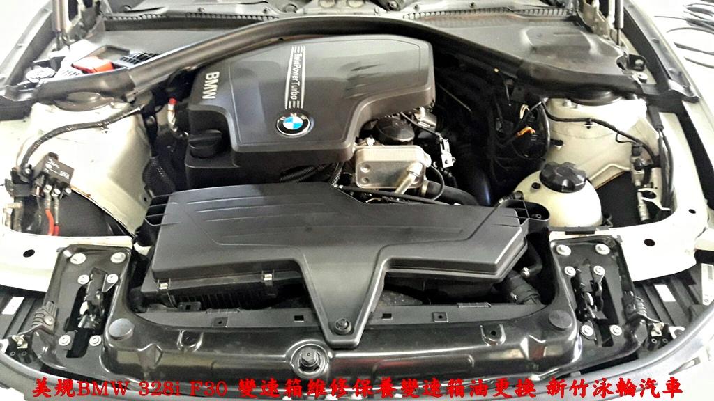 Bmw 328i F30變速箱油更換注意事項,切記定期更換zf 8速變速箱油,以免變速箱維修花大錢